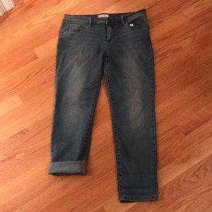 Free People size 30, straight leg pant/crop